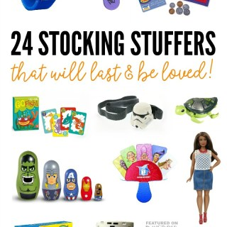 2016 Holiday Gift Guide – 24 Quality Stocking Stuffers Kids will Love