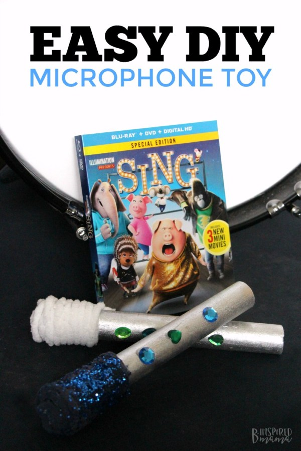 Easy DIY Kids Microphone Toy • B-Inspired Mama