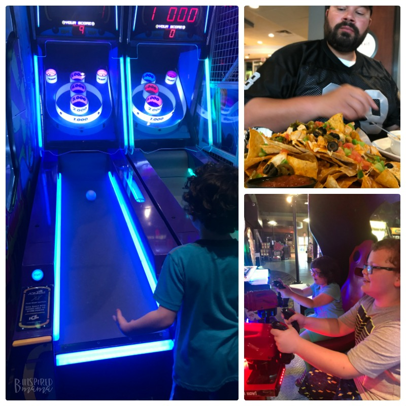 Our Sherkston Shores Vacation Memories - Enjoying the arcade