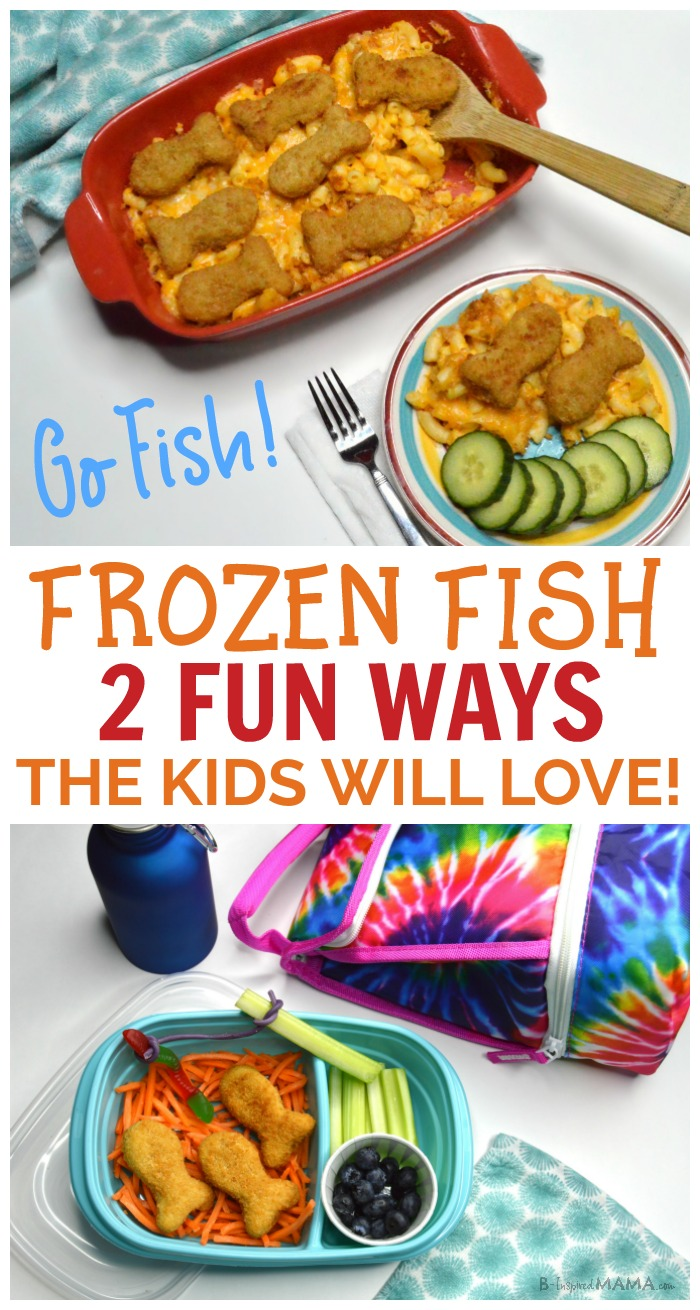 Go Fish! An Easy Meal and Fun Lunch for Kids - at B-Inspired Mama