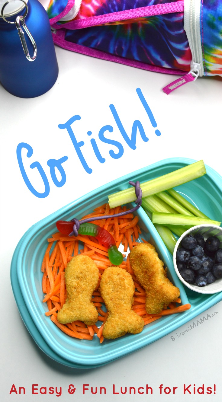 Go Fish! - An Easy and FUN Lunch for Kids at B-Inspired Mama