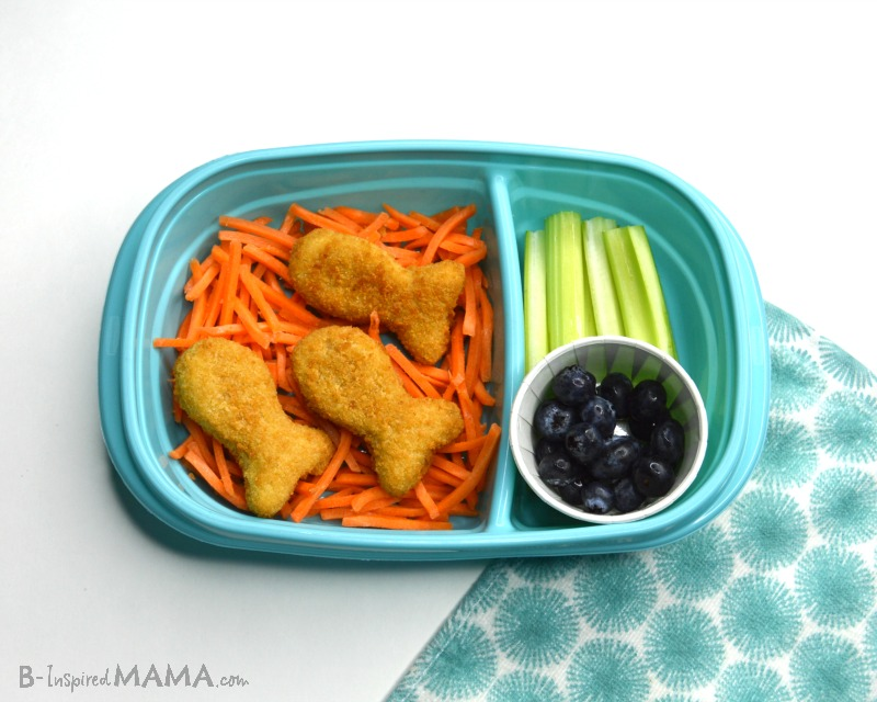 Making our Fun Lunch for Kids - Go Fish Packed Lunch - Step 4 - at B-Inspired Mama