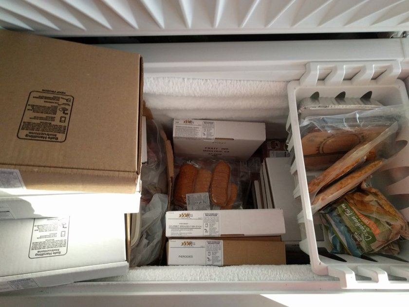 Freezer is full
