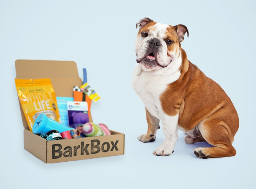 Every BarkBox has 4-6 dog goodies guaranteed to make your pup jump with joy, and since you would beinvited, you'll get a FREE month added to your plan. Talk about a BFF!