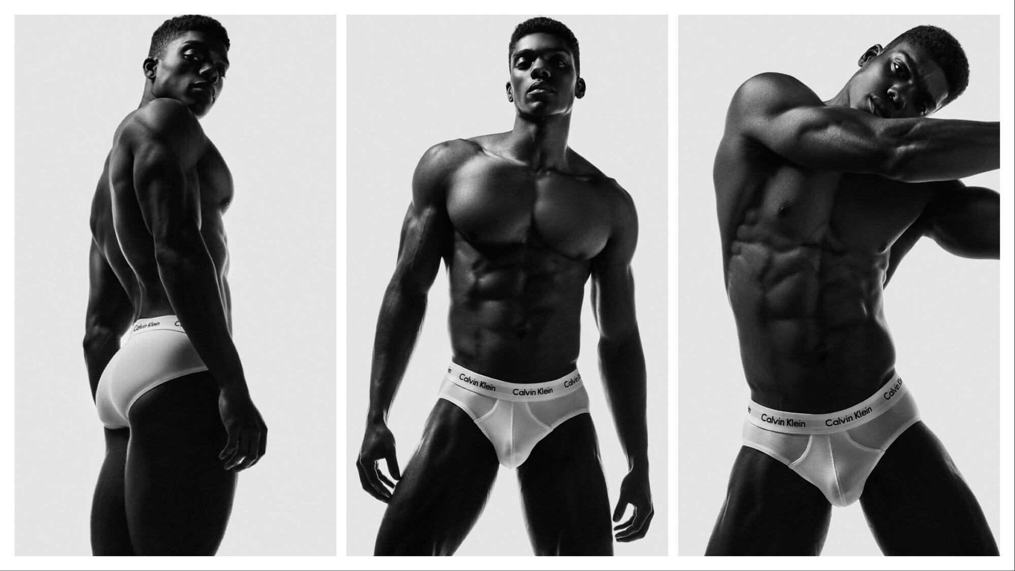 🇺🇸Nicholas Kodua by Blake Ballard in his Calvin Klein Underwear