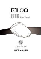 E'LOO Electronic Bidet 8TK User Manual