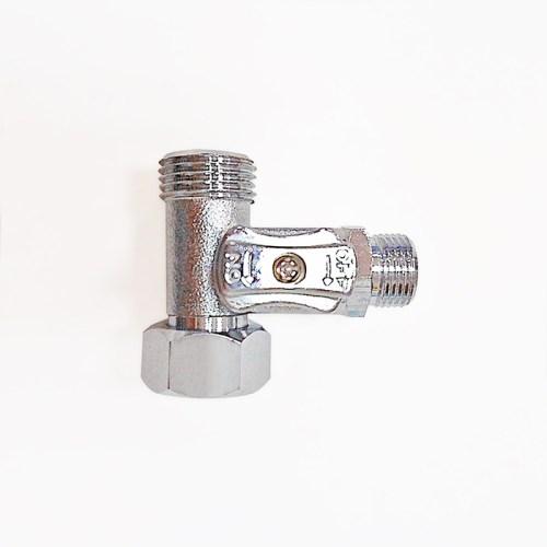 E'LOO 電腦馬桶座專用銅製三通止水閥-1