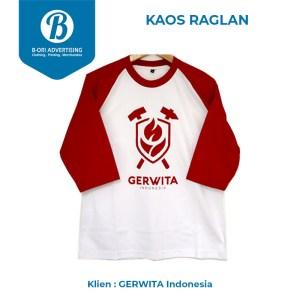 B-ORI Kaos Raglan Gerwita Indonesia