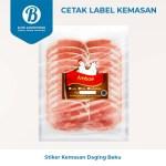 B-ORI Cetak Stiker Label Makanan Beku