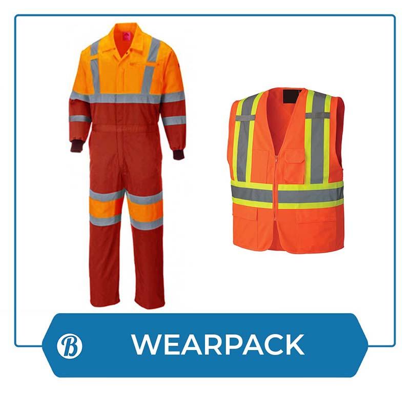 B-Ori Wearpack atau Baju Safety