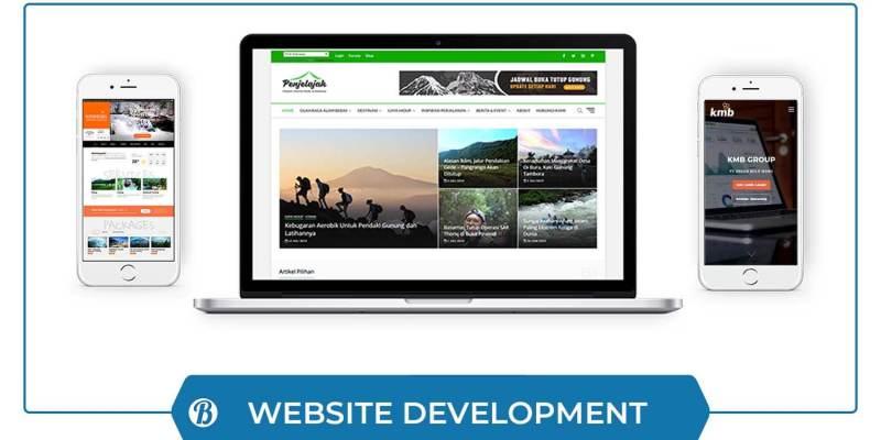 Website Development - B-ORI Advertising
