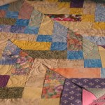 Norma's French Braid - quilted with Tilt-a-Whirl