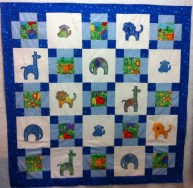 Accuquilt GO! Zoo Animals and a few Orphan Blocks