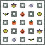 Halloween Quilt / Wall Hanging