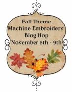 Nov 5-9: Machine Embroidery Blog Hop