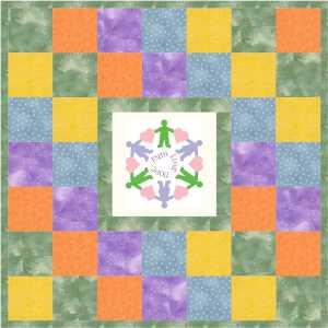 child quilt 42x42