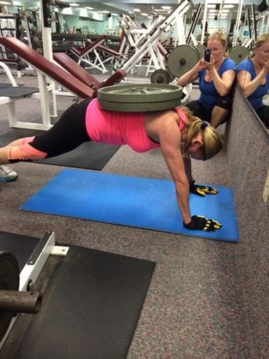 Judes Straight Arm Plank