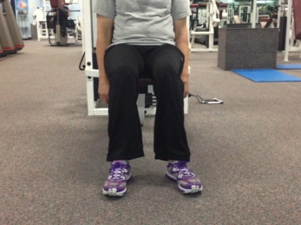sitting knee pain