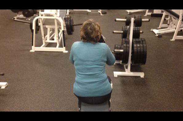 Diane lateral tilt squat portion