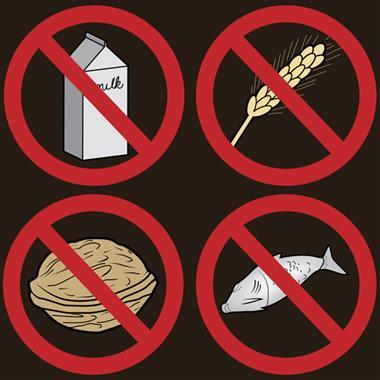 joint pain food allergy gluten