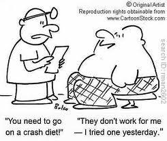 Crash diet
