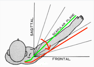 Scapular Plane with rotation