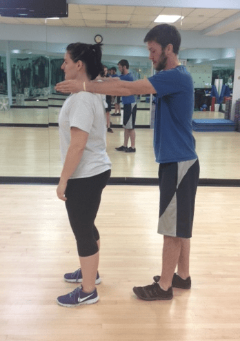 Standing gravity stress assessment good posture