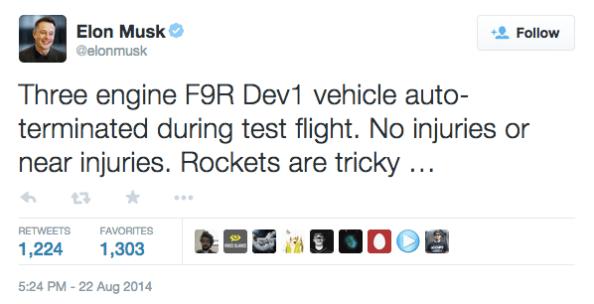 Elon Musk Rockets are Tricky