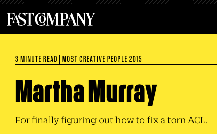 Fast Company Martha Murray