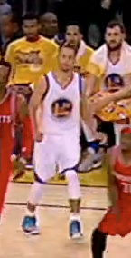 Steph Curry ankle foot injury 2016 4