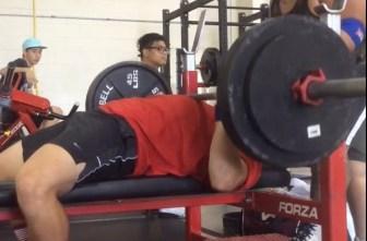 Bench press shoulder extension