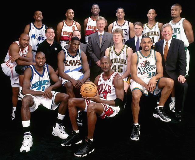 NBA All Star Game 1998 : Michael Jordan s'offre un troisième