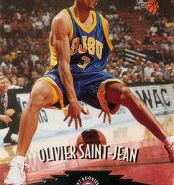 Olivier Saint-Jean - San José State Spartans carte 4 dribble (c) tradingcarddb com