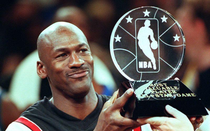 Titre All Jordan Un Game Troisième 1998Michael Star Nba S'offre yYbgf76v