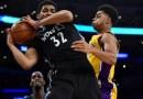 Opening Night 2015 : le premier match de Karl-Anthony Towns avec les Wolves, 14 points – 12 rebonds face aux Lakers