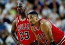 Michael Jordan – Scottie Pippen : deux coéquipiers qui scorent 40 points et + face aux Pacers en 1996