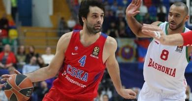 Milos Teodosic régale le CSKA Moscou : 34 points, 10 passes en 2016 face à Vitoria