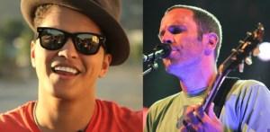 Bruno Mars and Jack Johnson