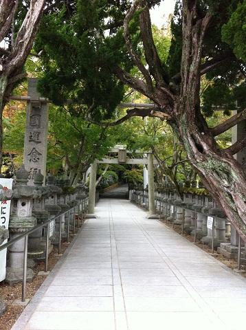 鹿嶋神社 通路(1)