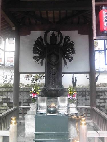 須磨寺の千手観音