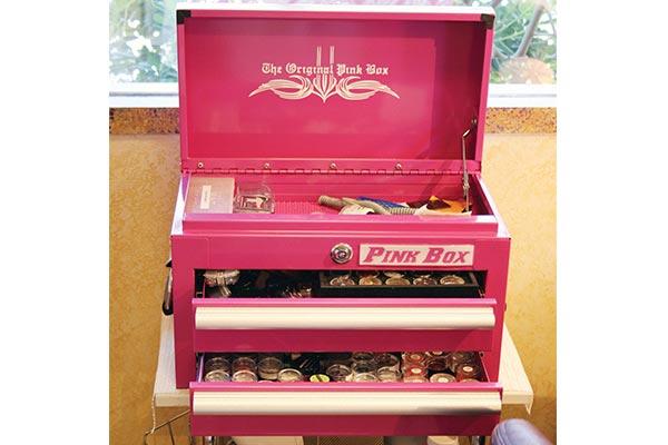 Pink Tool Box Pink Box Bench Tool Boxes Pink Toolbox