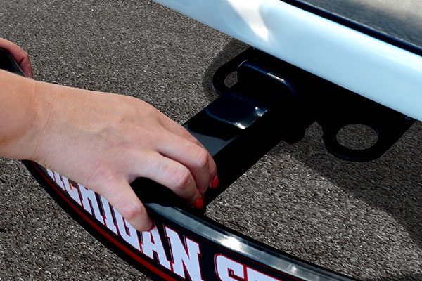 FANMATS NCAA Light Up Hitch Cover