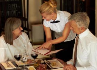 English Patterns for Waiters and Customers
