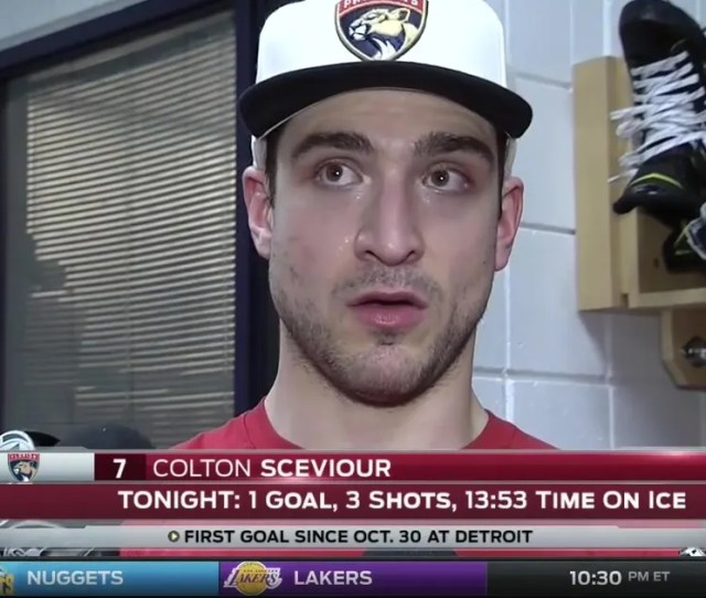 Colton Sceviour Relieved To Score First Goal Since Oct  Fox Sports