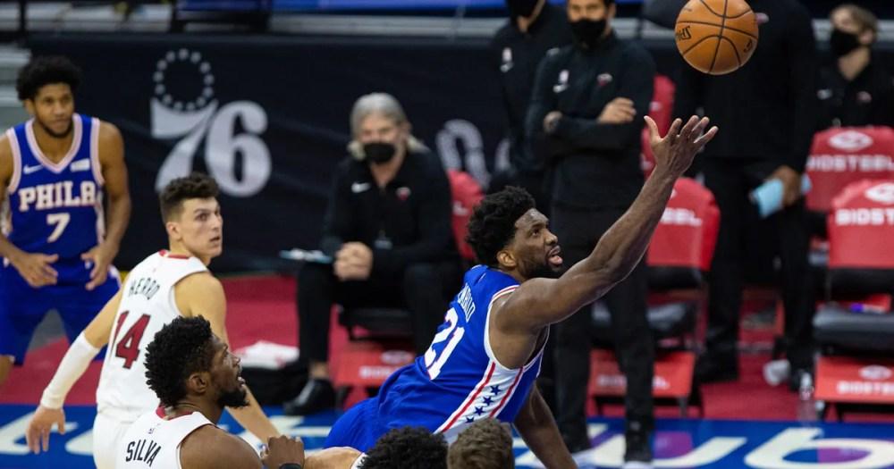 Philadelphia 76ers 137, Miami Heat 134 (OT)