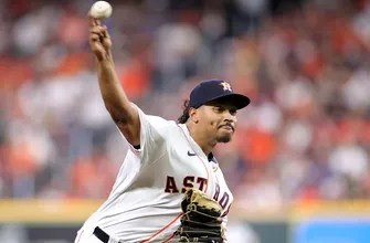 Luis Garcia discusses his five-plus innings pitched that helped the Astros advance to the World Series