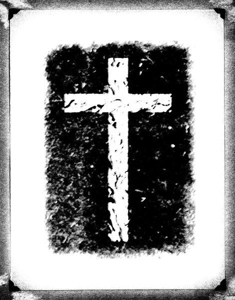 Vintage Cross: Black and White Cross on Vintage Background.Please visit my stockxpert gallery:http://www.stockxpert.com ..