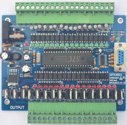 『微嵌電子』32MT 國產PLC 板 PLC工控板 單片機控制板 仿PLC工控板 - 露天拍賣