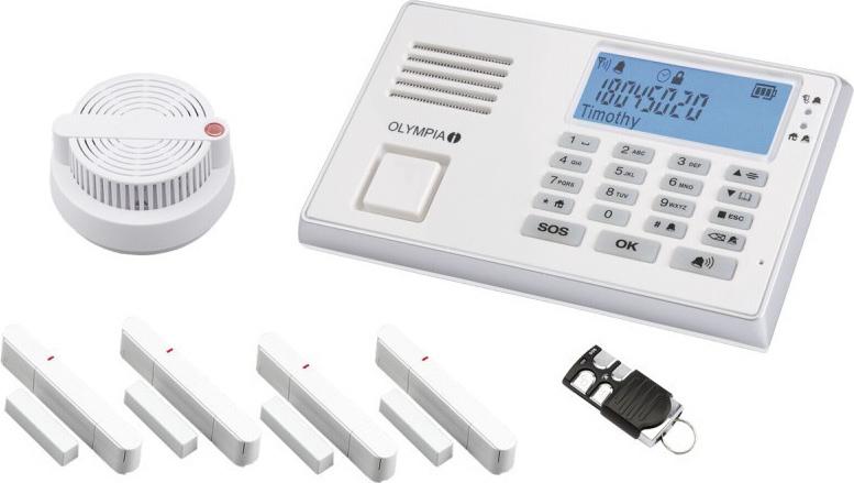 Olympia Wireless Alarm System Protect 9061