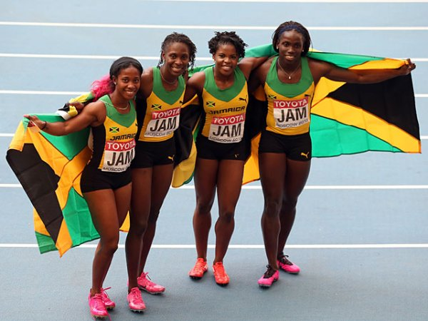 Jamaica's women win 4x100m relay title - Sports Mole